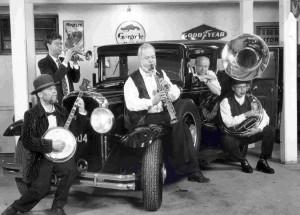 Hot vintage jazz