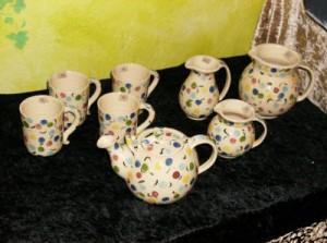 Julestue med keramik