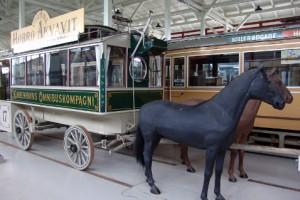 En tur med hesteomnibus