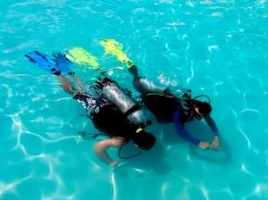 Prøv at dykke