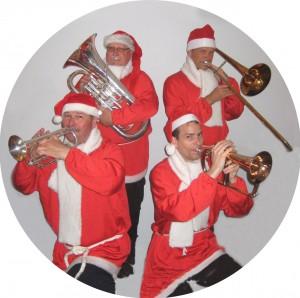 Julemusik i gaderne