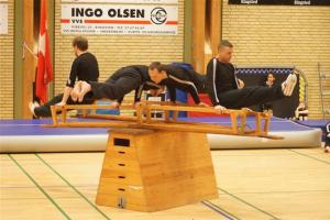 Lokal gymnastikopvisning