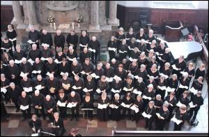Gundsøkoret og Ringstedkoret opfører Skabelsen i Christianskirken i København forår 2013
