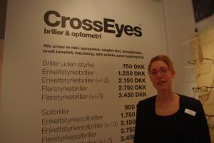 Modeshow med briller