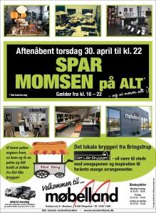 Aftenåbent i Møbelland