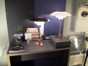 Eftertragtet bordlampe
