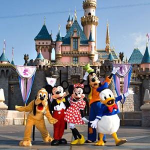 Vind tur til Disneyland