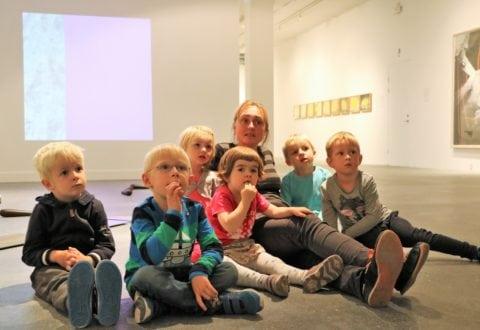 Ringsted børnehave på kunstmuseum