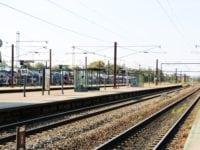 Togbus mellem Roskilde og Slagelse