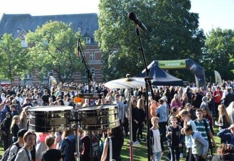 Ringsted spilleplade for 1600 elever