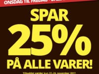 Buddy tyvstarter på Black Friday