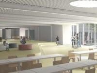 Et blik ind i det nye sportscenter. Foto: Ringsted Kommune.