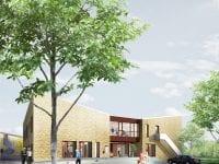 Visualisering af exterior. Foto: Ringsted Kommune