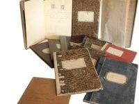 Arkivalier fra Ringsted Arkiv. Foto: Ringsted Museum og Arkiv.