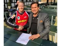 Frank Mikkelsen er ny mand i målet hos TMS Ringsted. Foto: TMS Ringsted.