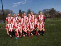 FC Prostata. Foto: Prostatakræftforeningen PROPA - Lokalafdeling Roskilde.