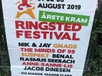 Årets plakat. Foto: Ringsted Festival.
