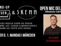 Foto: Stand-up Stuen Open mic Deluxe på Skema