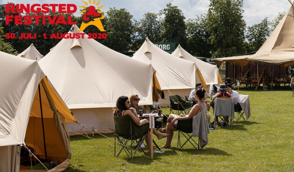 Campingpladserne er udsolgt!