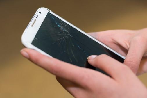 Sjællandske borgere smadrer oftere mobilskærmen