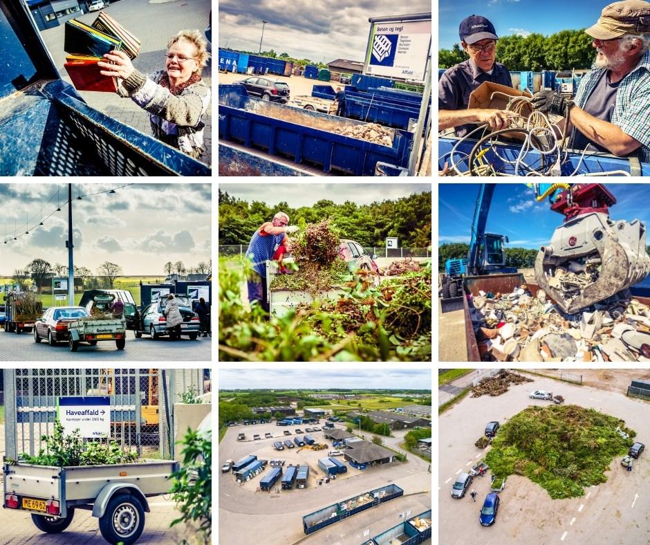 Fra mandag den 25. maj er det slut med booking på samtlige genbrugspladser