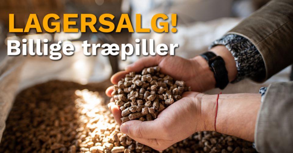 LAGERSALG - billige træpiller