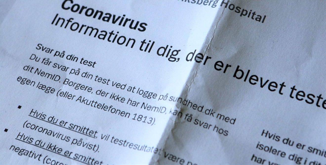 Midlertidigt testcenter i Ringsted lukker for borgere