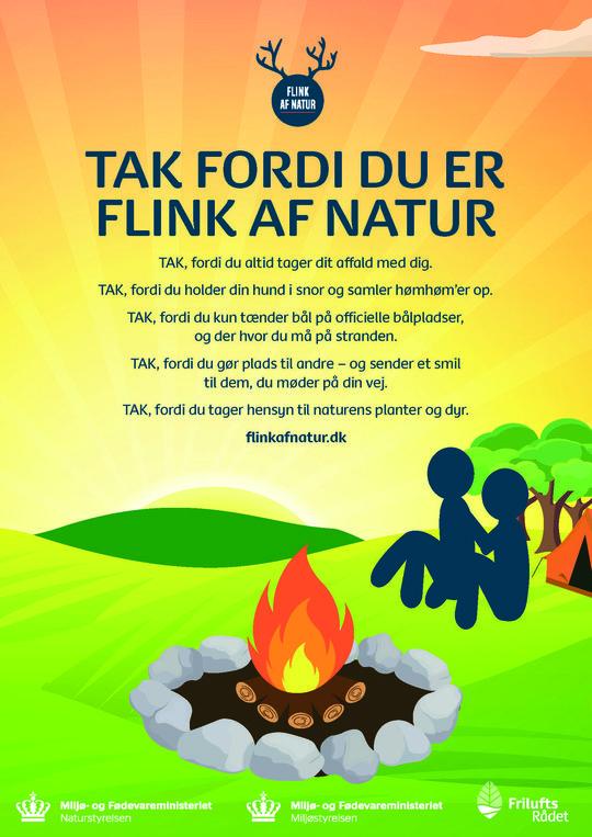 Ny kampagne for god opførsel i naturen