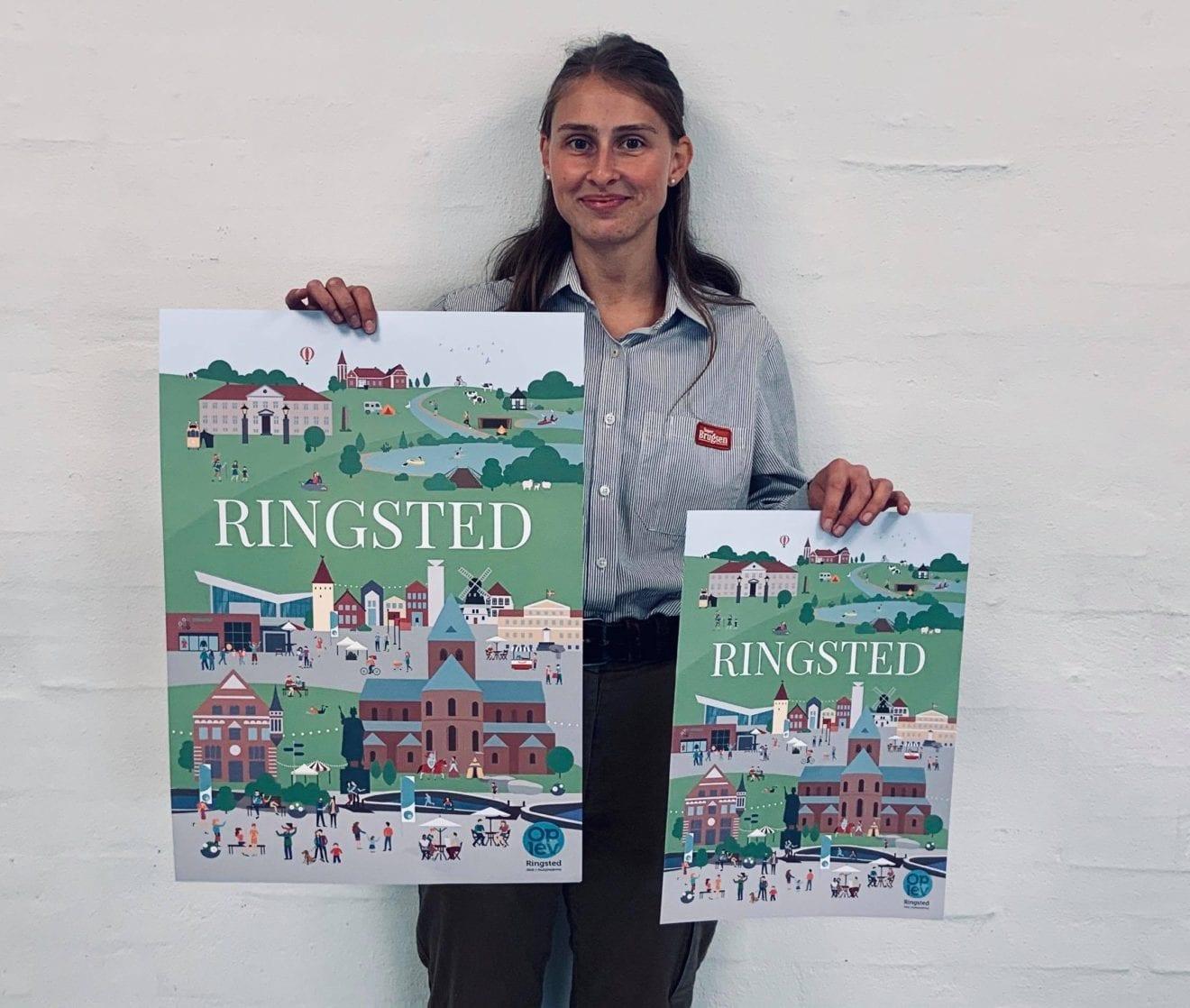Ringsted Plakaten sat til salg