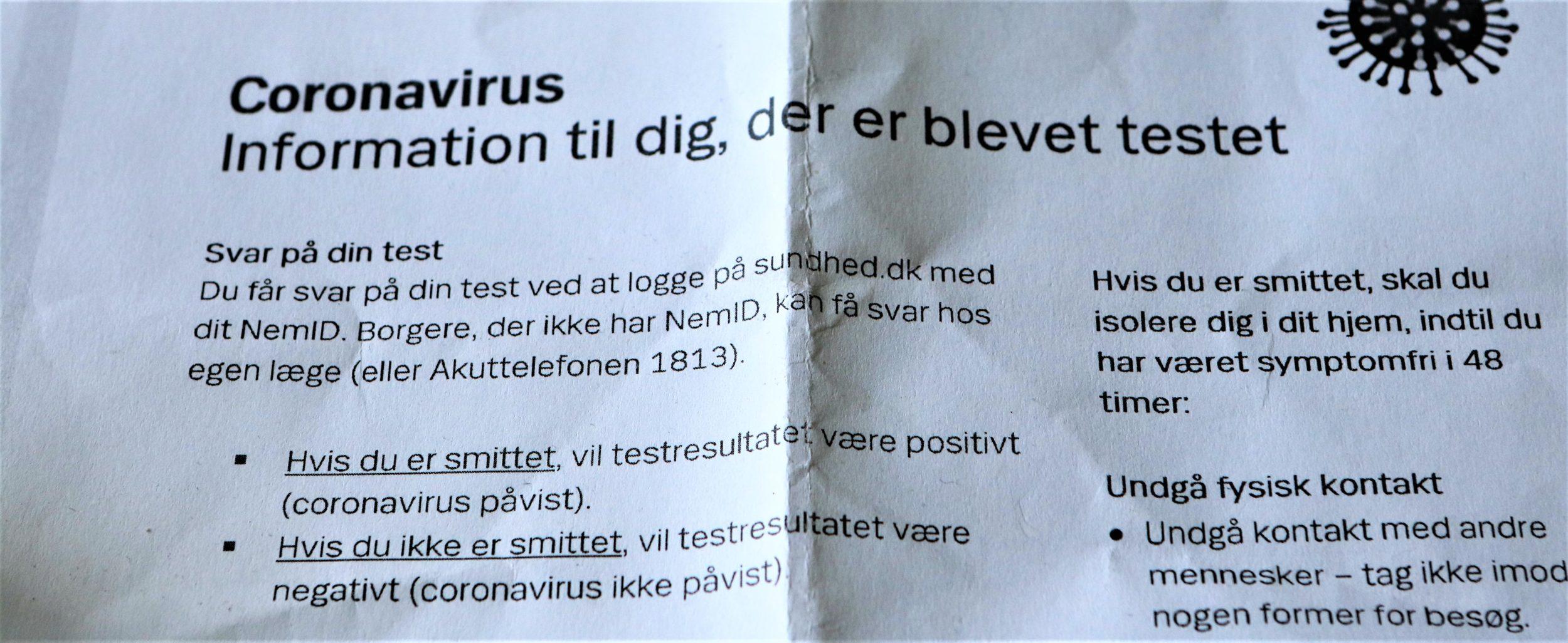 Status på corona-smitte på skoler i Ringsted Kommune