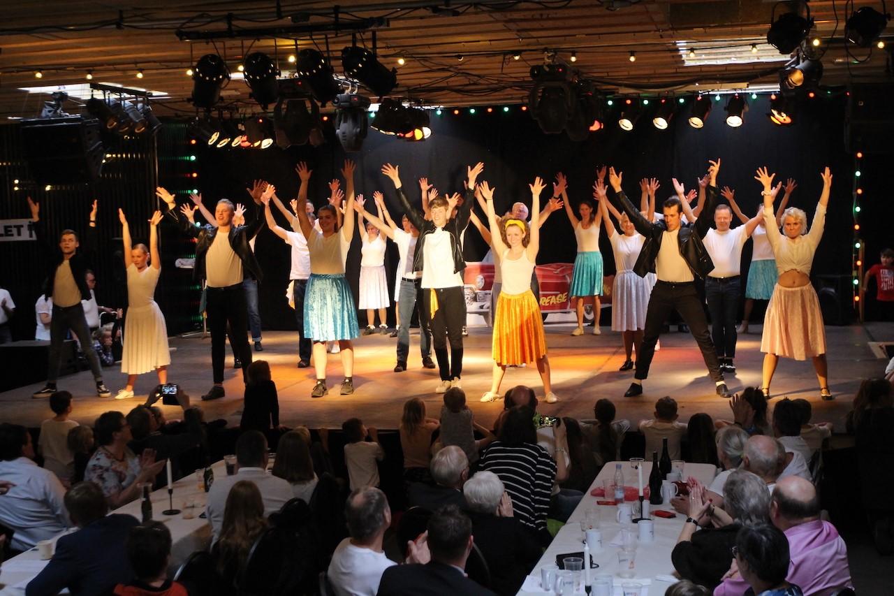 Danseopvisning og åben dans i august