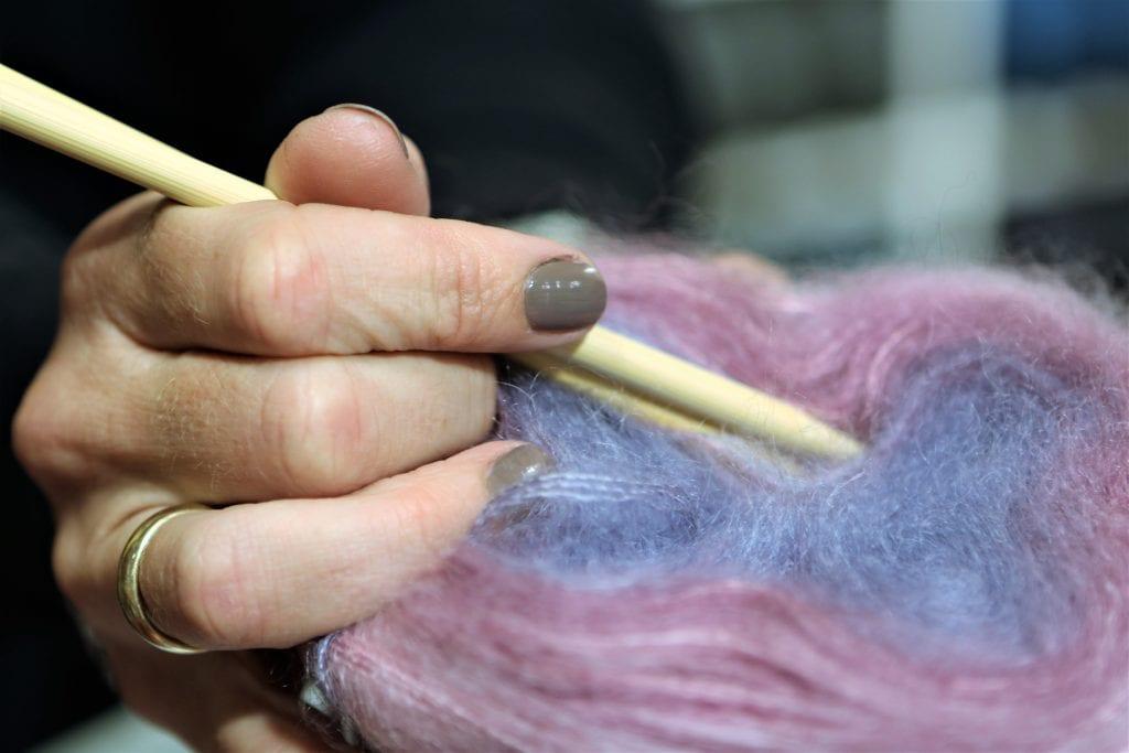 Det lille-bitte strikkebogsshow