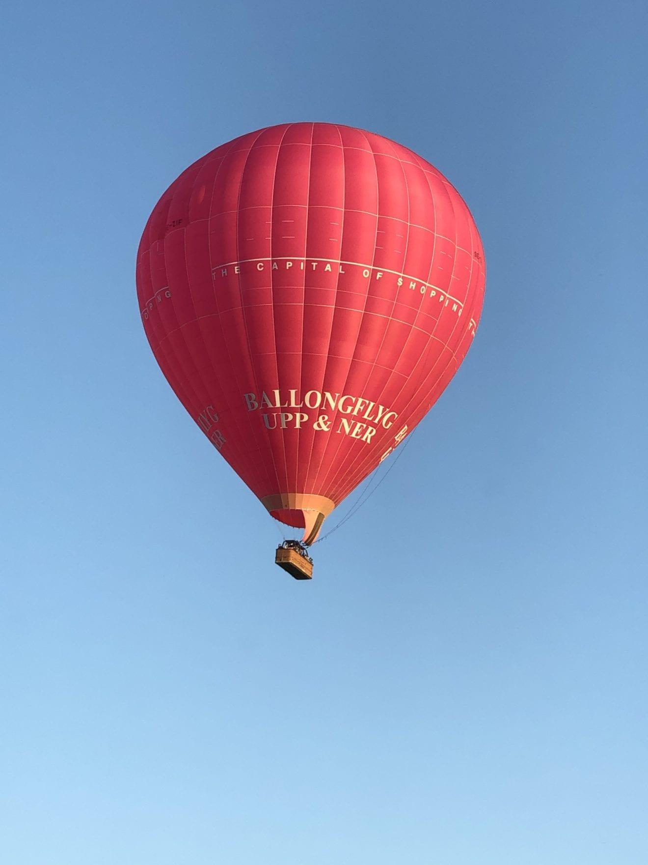 Ringsted rundt i ballon
