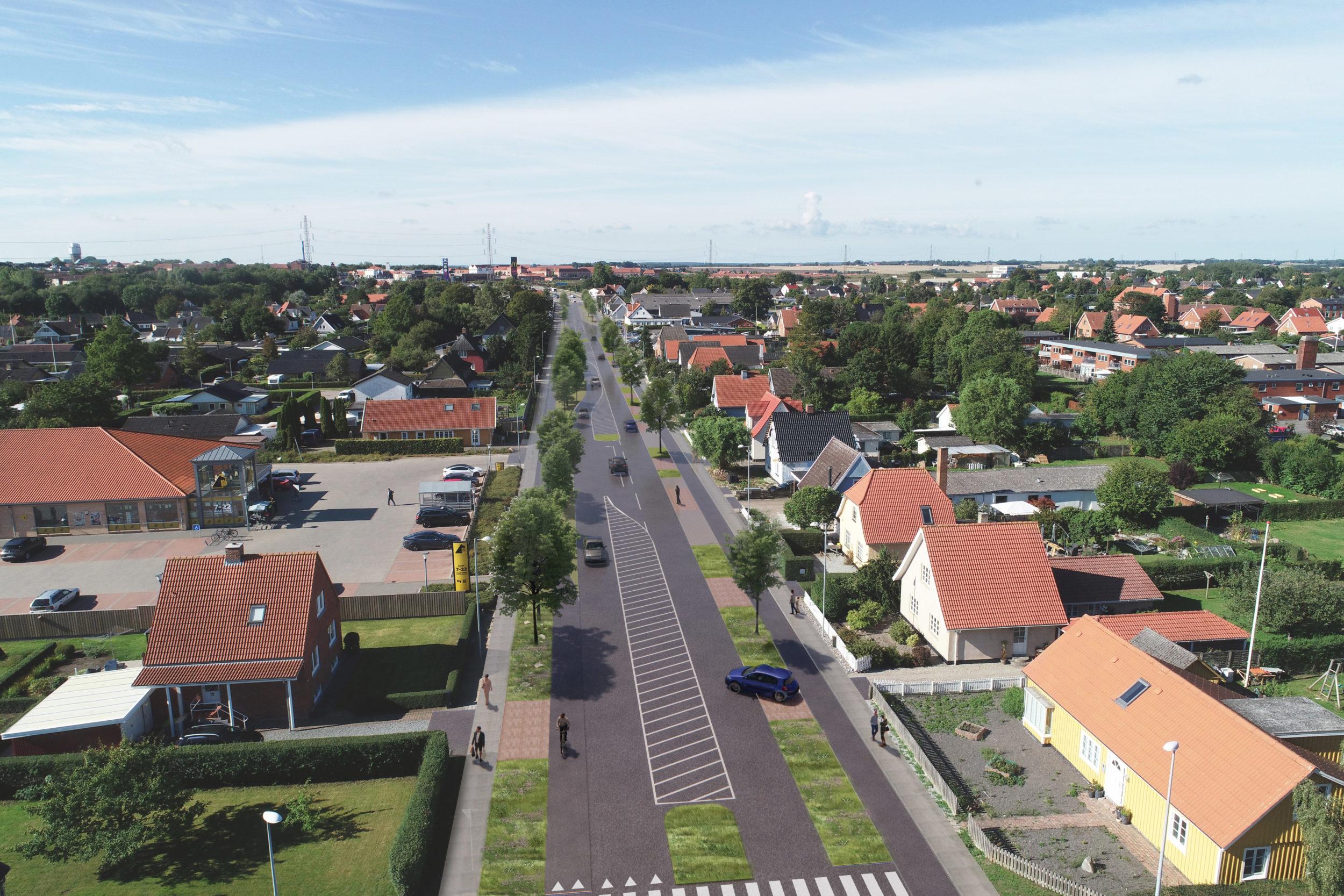 Kom til åbent telt om planerne for Roskildevej