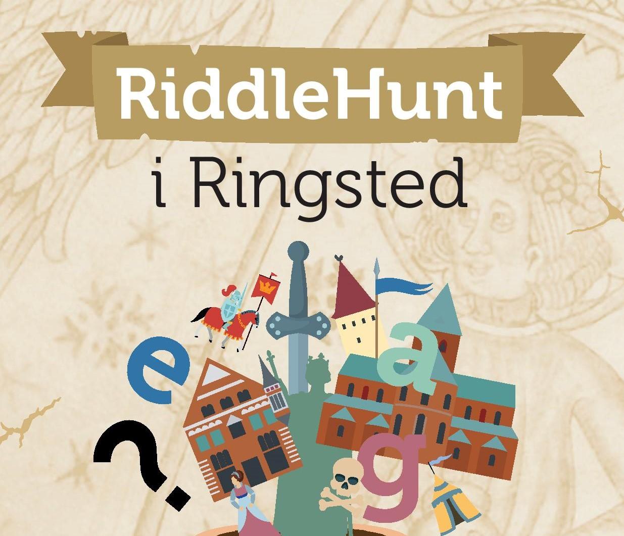 Tag på byvandring med RiddleHunt i Ringsted