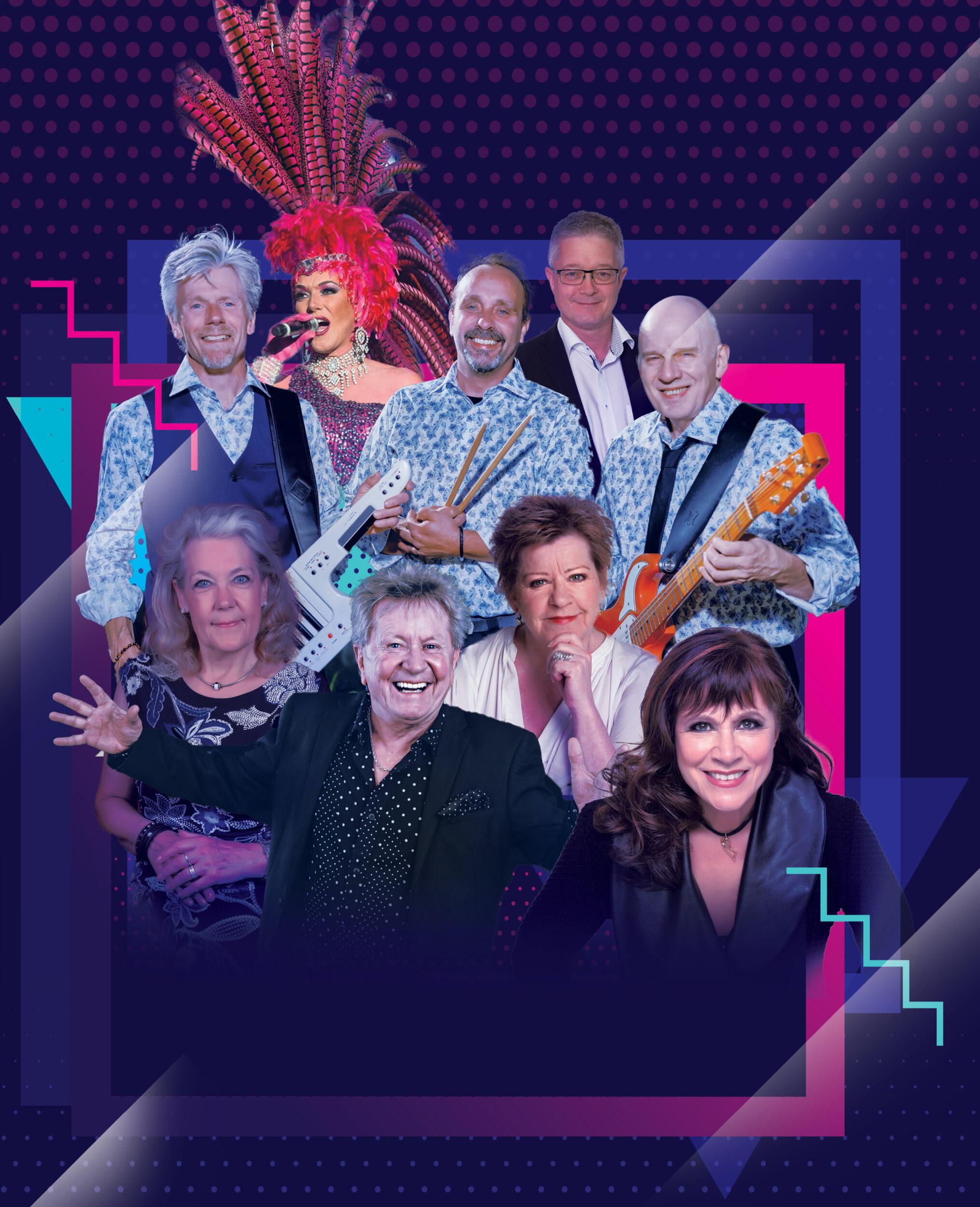 Stort dansktop show i Ringsted Kongrescenter