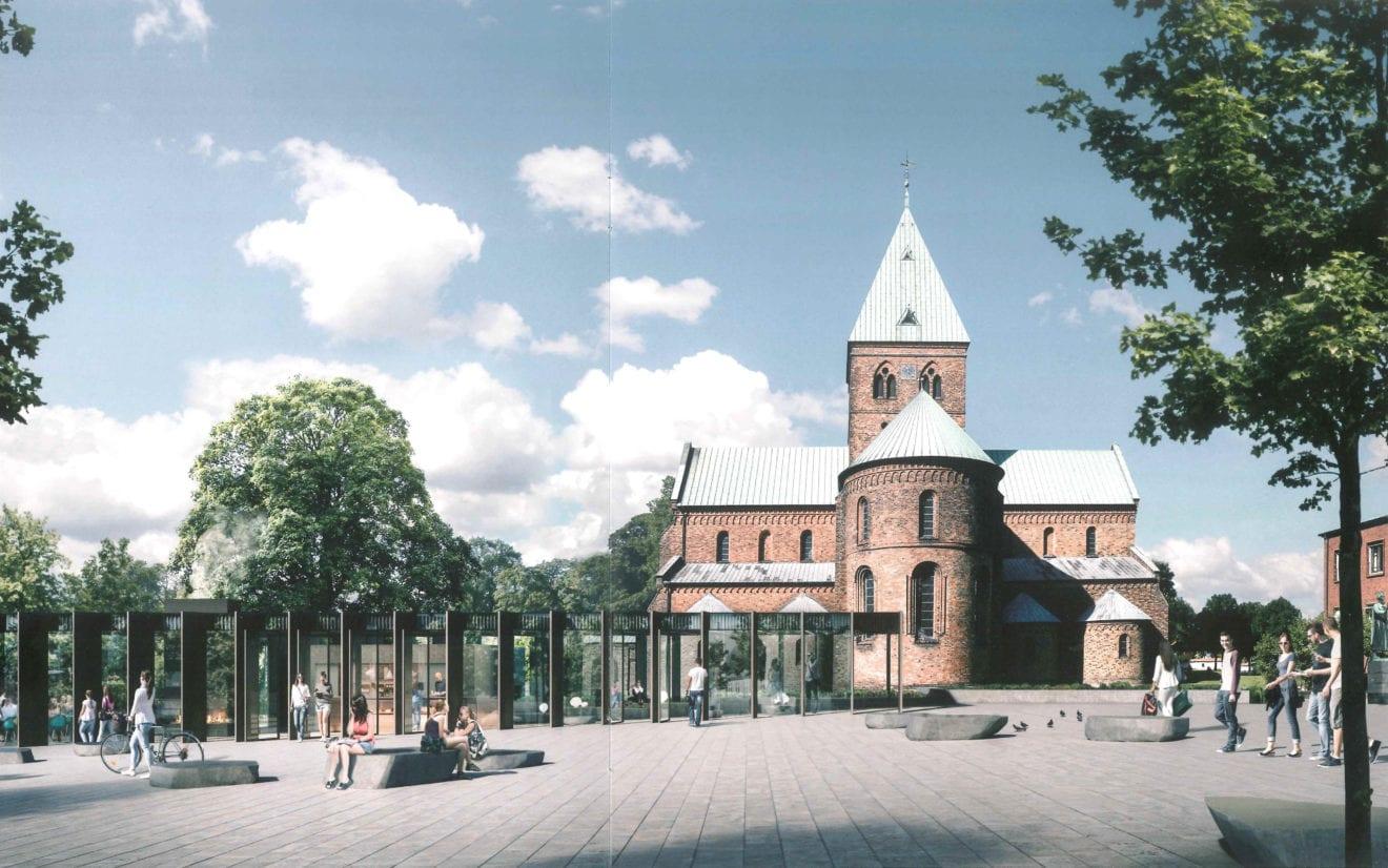 Nu starter arbejdet med pavillon på Torvet