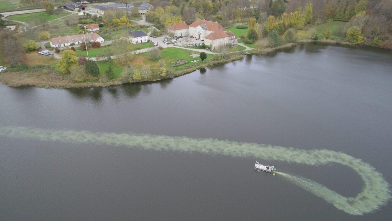 Sørestaurering i Skjoldenæsholm Gårdsø er i fuld gang
