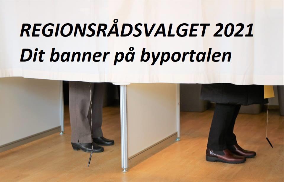 Regionsvalget 2021 - annoncering