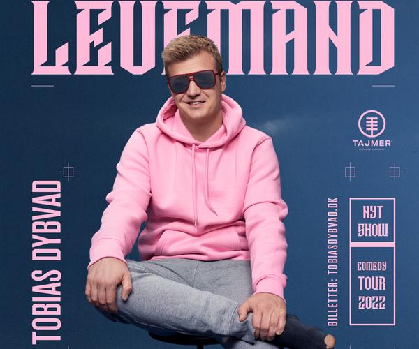 Tobias Dybvad med nyt comedy show - I SALG NU!