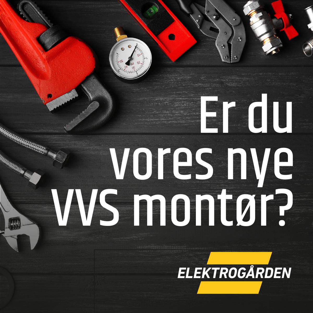 Elektrogården søger VVS montør