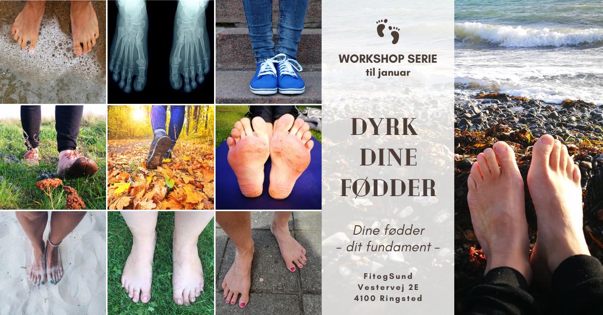 Dyrk dine fødder hos Fit&Sund Ringsted