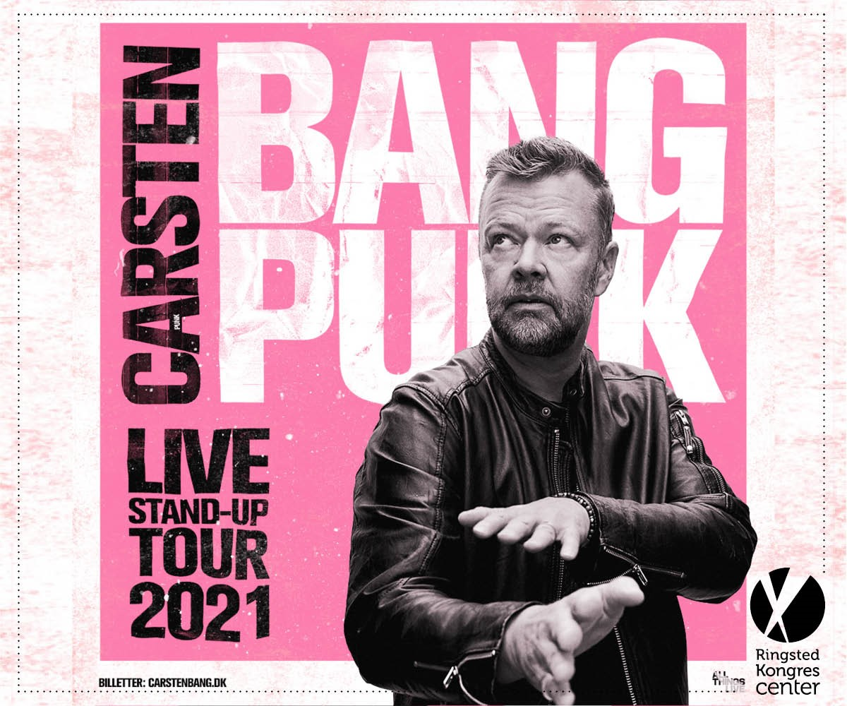 Carsten Bang er tilbage med nyt onemanshow, PUNK!