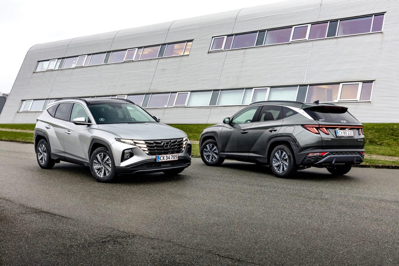 Ny Hyundai Tucson får Danmarkspremiere i din indkørsel