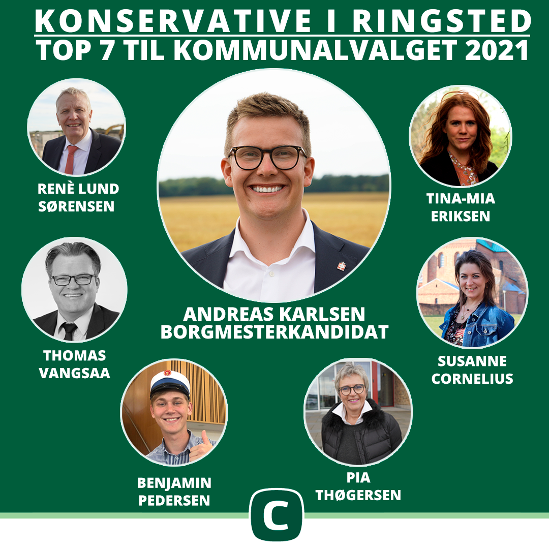 De Konservative har kandidatholdet klar til kommunalvalget!