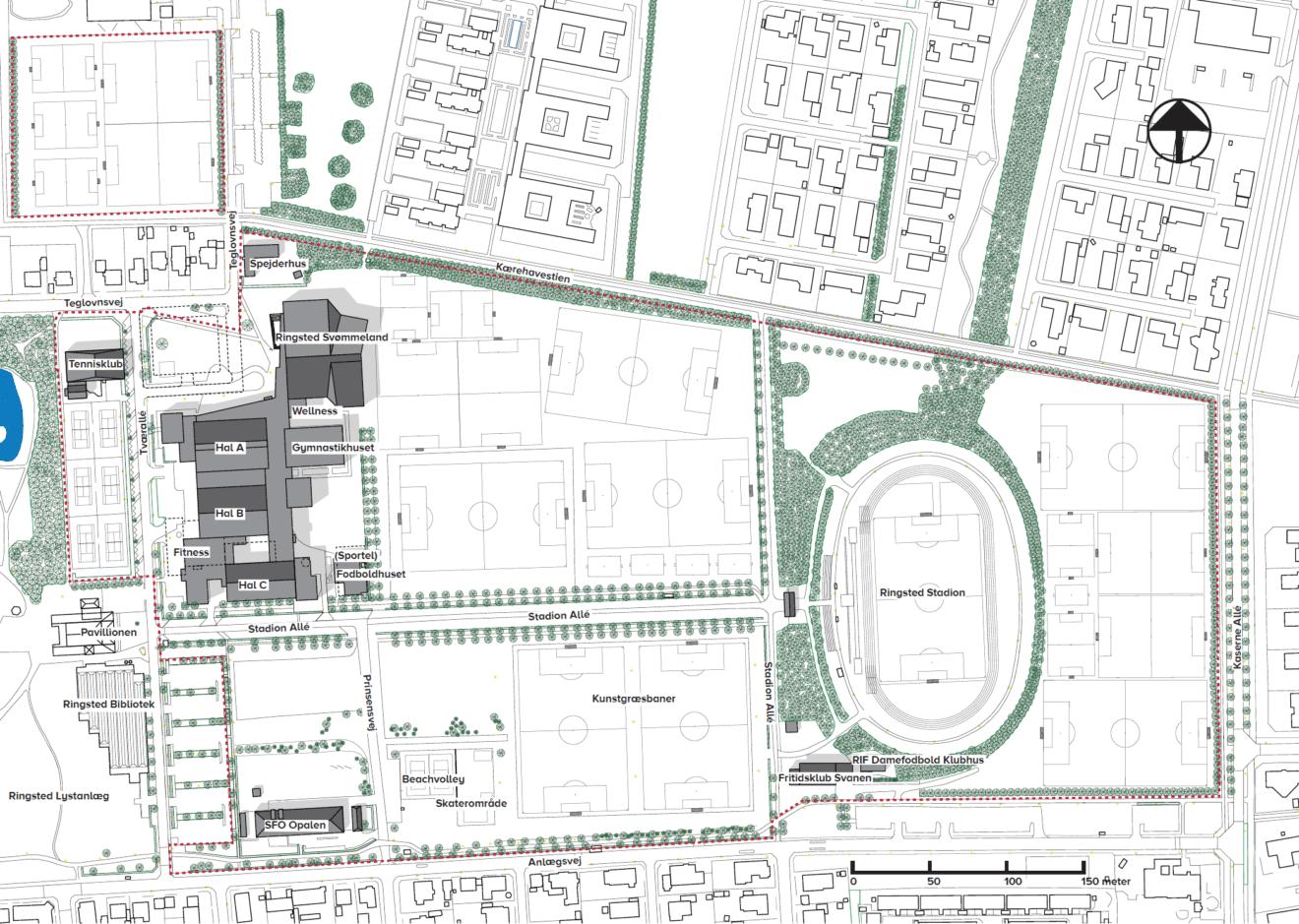 Ringsted Sport Center modtager mange idéer til udvikling af sit udeareal
