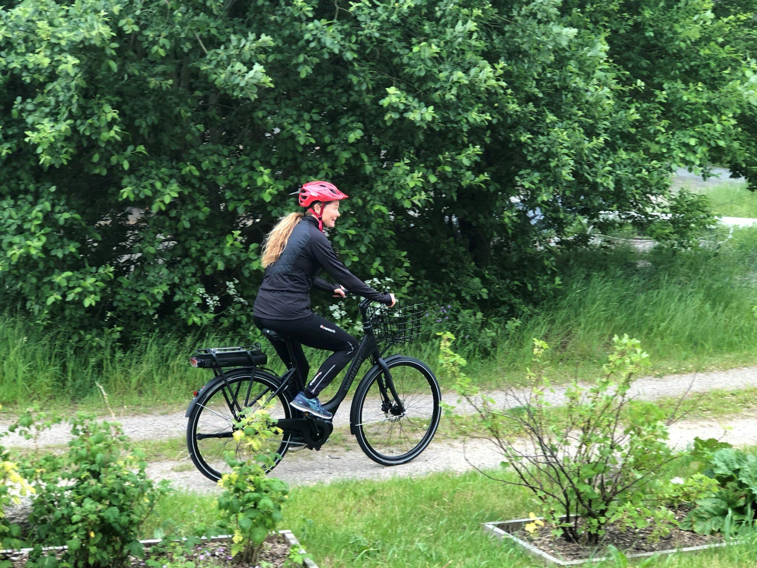 Lån en elcykel af Ringsted Kommune