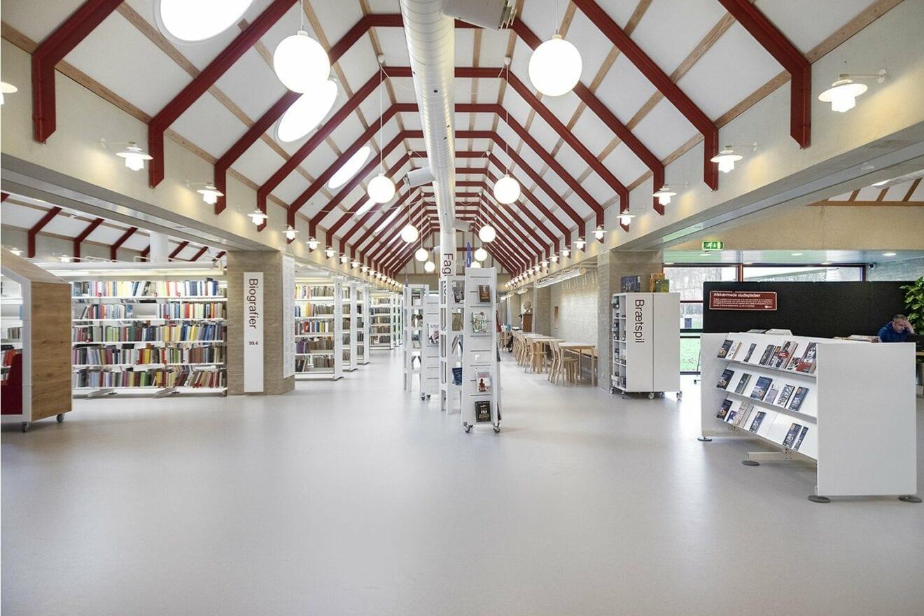 Bibliotek og Borgerservice åbner igen
