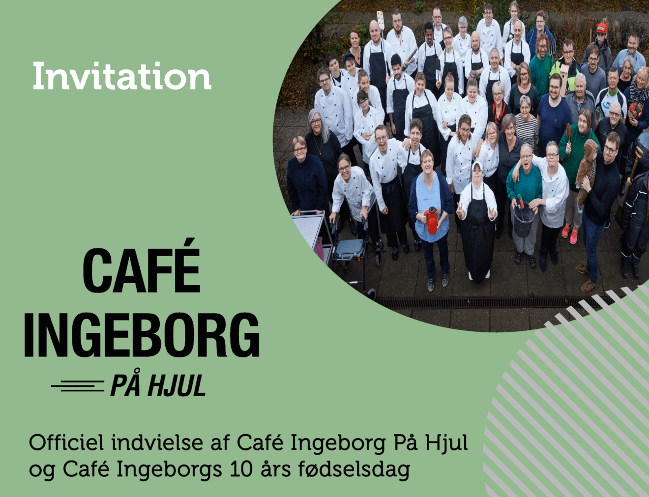 Endelig kan Café Ingeborg fejre foodtruck og 10 års fødselsdag