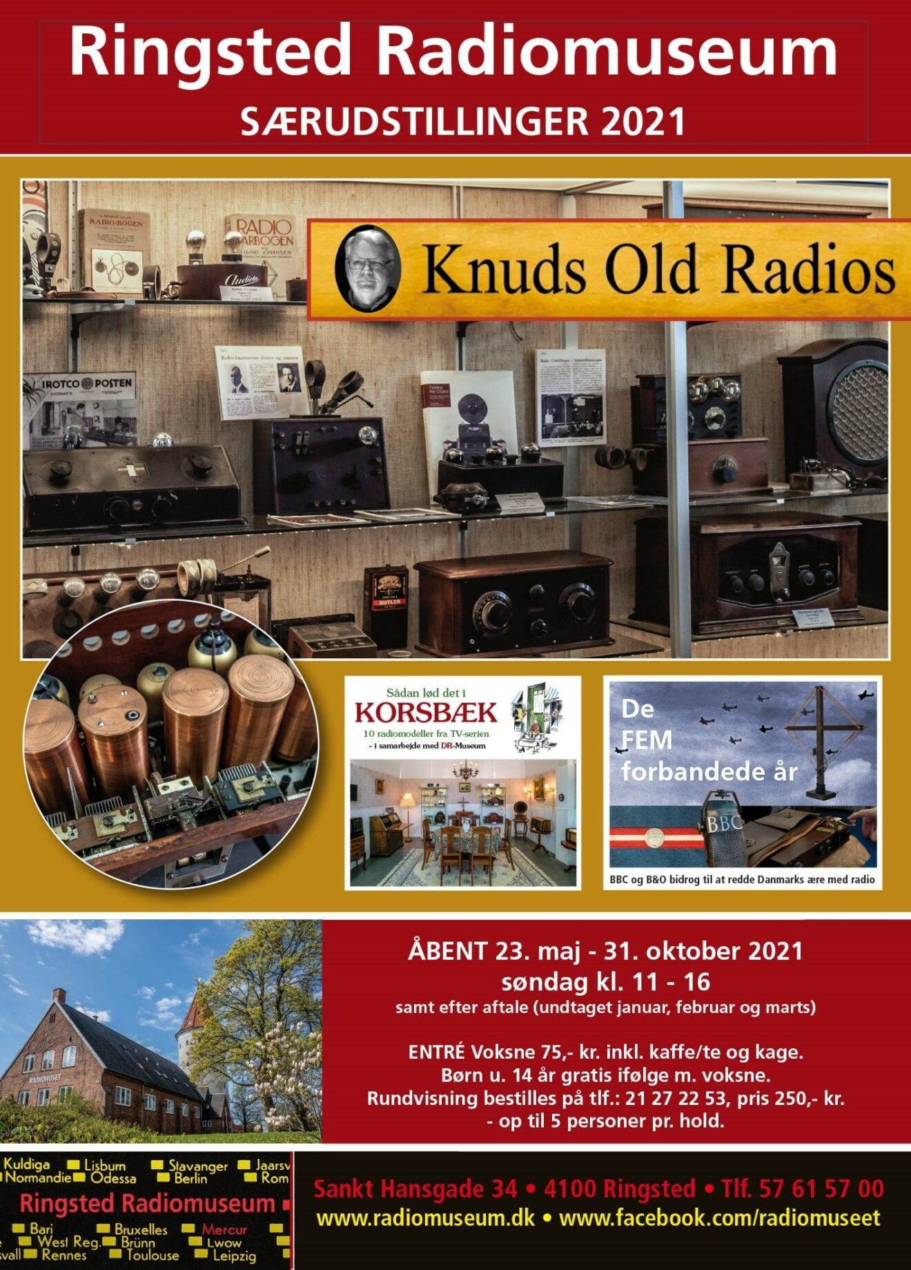Radiomuseet genåbner søndag
